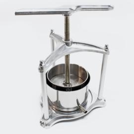 Mini-Fruitpers aluminium/roestvrij staal 3 liter