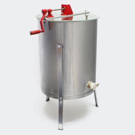 Handmatige honingslinger; centrifuge zwierder RVS.