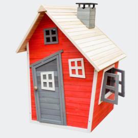 Eco-vriendelijk KinderSpeelhuis, 1200x1020x1540mm, Vurenhout.