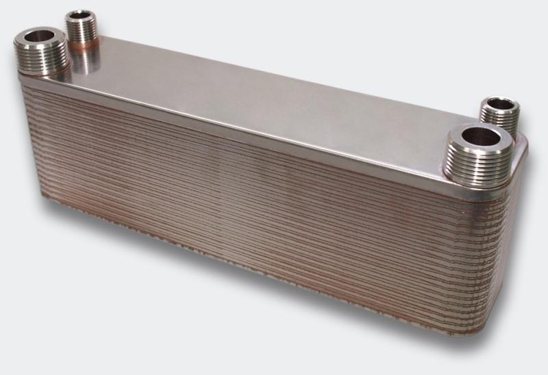 RVS Warmtewisselaar, 40 rijen, 165 kW