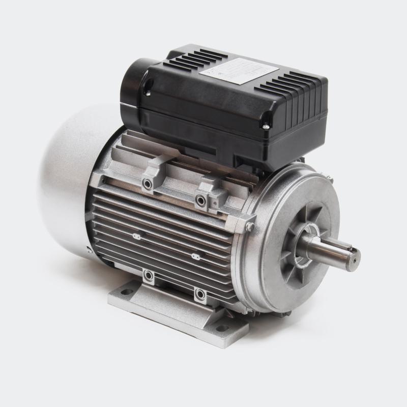 1-fase. Elektromotor 2-polig 230V 2,2kW 3 PK met aanloopcondensator