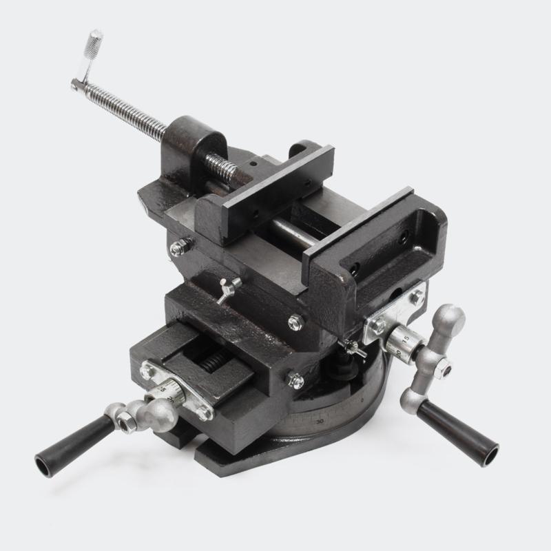 Machine bankschroef, tafel klem, draaibare 125 mm bankschroef