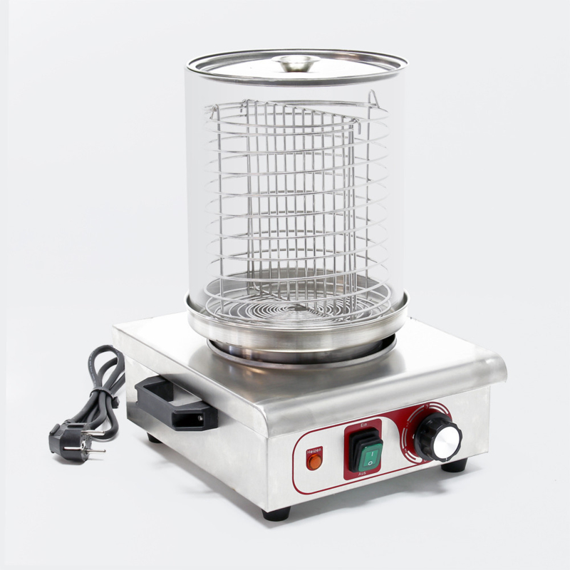Hotdog verwarmer, rvs, 450 Watt; Hot dog Maker