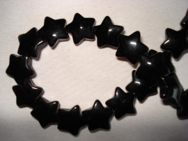 Glaskraal stervormig zwart