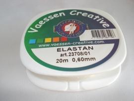 Elastisch nylondraad 0,6 mm ZEER STERK