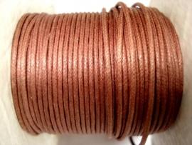 Waxdraad 0,5 mm bruin