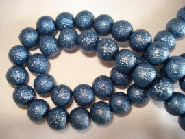IJsparel rond 12 mm donkerblauw