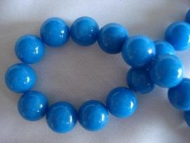 Natuursteen kraal 10 mm blauw