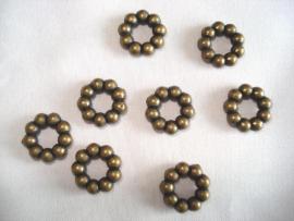 Baliring bronskleur 12 mm