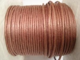 Waxdraad 1 mm bruin