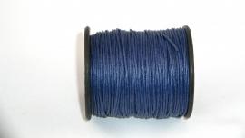 Waxdraad 1 mm donkerblauw
