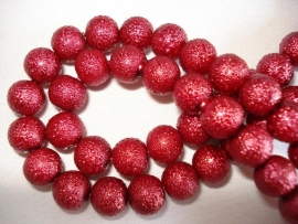 IJsparel rond 12 mm rood