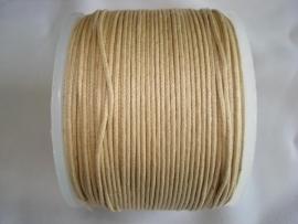 Waxdraad 0,5 mm camel bruin