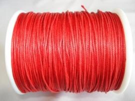 Waxdraad 0,6 mm rood