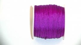 Nylonkoord 0,8 mm fel paars