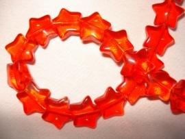 Glaskraal stervormig rood