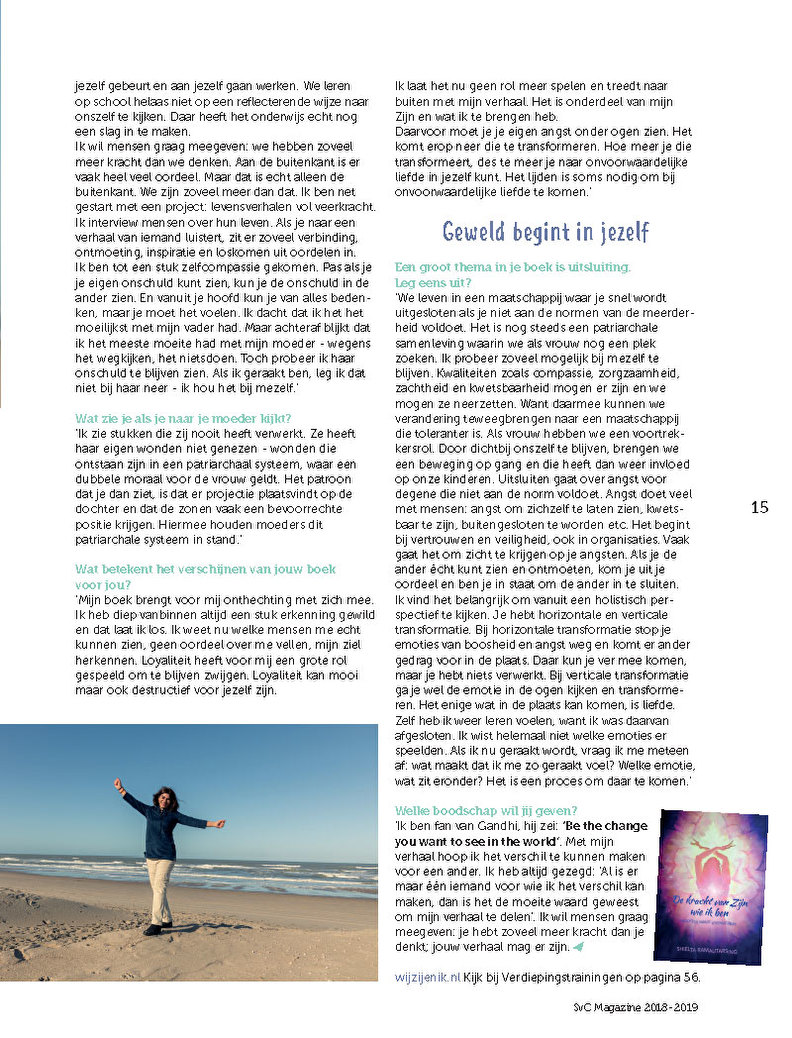 SVC magzeine blad 3
