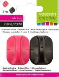 Vaessen Creative reservemesje + rilmesje voor papiersnijders 2207-107
