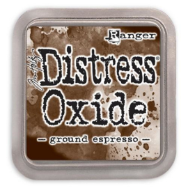Ranger Distress Oxide Ink Pad - Ground Espresso TDO56010