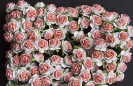 Roosjes X ivoor/roze