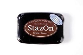 Stazon inktkussen Timber Brown SZ-000-041
