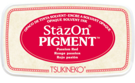 StazOn Pigment Passion Red SZ-PIG-21 75 x 35mm