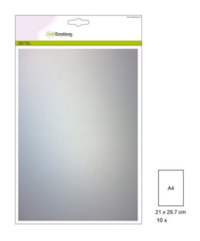 CraftEmotions Transparant perkamentpapier wit 10 vel A4 140GR 110106/0100