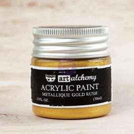 Prima Marketing Art Alchemy Acrylic Paint Metallique Gold Rush (963071)