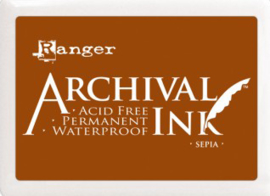 Ranger - Archival Ink Pads - Sepia AIP31505