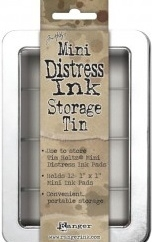 Distress Mini Storage Tin TDA42013