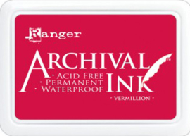 Ranger - Archival Ink Pads - Vermillion AIP30461