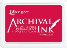 Ranger - Archival Ink Pads - Vermillion AIP30461