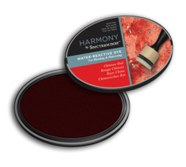 Spectrum Noir Inktkussen - Harmony Water Reactieve - Chinese Red