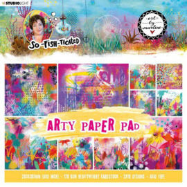 Studio Light By Marlene Paper pad So-Fish-Ticated nr.3 ABM-SFT-PP03 203x203mm