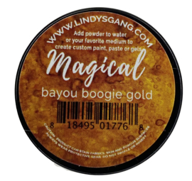 Lindy's Stamp Gang Bayou Boogie Gold Magical (mag-jar-02)