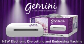Crafter's Companion Gemini A4 Embossing- en stansmachine
