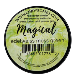 Lindy's Stamp Gang Edelweiss Moss Green Magical (mag-jar-04)