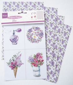 Marianne D Decoration Perfumed paper lilac CA3131