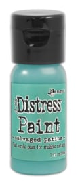 Ranger Distress Paint Flip Cap Bottle 29ml  Salvaged patina TDF72775 Tim Holtz