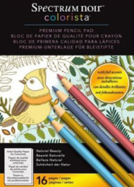Spectrum Noir Colorista A4 Pencil Pad – Natural Beauty