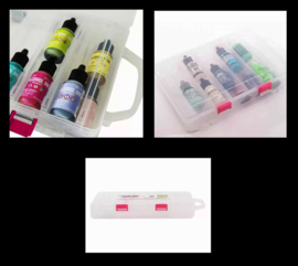 Vaessen Creative • Alcohol ink Plastic storage carrying case 7005-003
