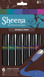 Sheena Douglass Sparkle 6hp pens - Cool and Calm