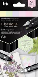 "Spectrum Noir Classique ""Hint Of"" (6 stuks) - Delicate Florals"