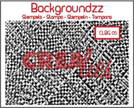 Crealies Clearstamp Backgroundzz 05 bamboo mat 95x135mm / CLBG05