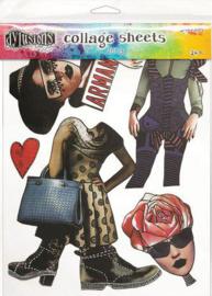 Ranger Dylusions Collage Sheet - no.3 DYA76360