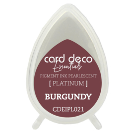 Card Deco Essentials Fast-Drying Pigment Ink Pearlescent Burgundy  CDEIPL021