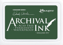 Ranger Archival Ink pad - English Ivy AID73970 Wendy Vecchi