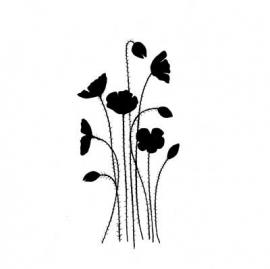 Lavinia Stamps Wild Poppies LAV189