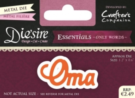 Die'sire Essentials Only Words NL - Oma DS-E-W-03-NL