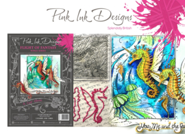 Pink Ink Designs A Cut Above Flight Of Fantasy Stamp & Die Set